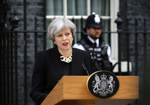 Theresa May held important speech