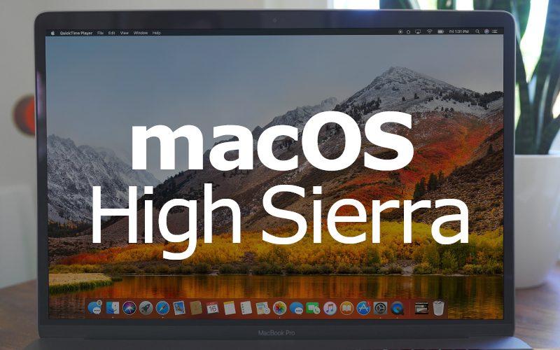 Apple will release macOS High Sierra on September 25