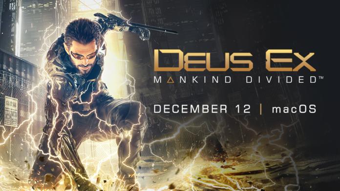 Deus Ex: Mankind Divided Arrives to macOS